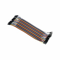 [NER-19481]점퍼와이어 F/F 200mm(Female/Female Jumper Wires - 40 x 200mm)