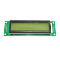 [OTM] OTM608Y-YG-1-31 20x2 Line Yellow Green Backlight