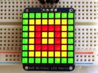 [A902] Adafruit Bicolor LED Square Pixel Matrix with I2C Backpack